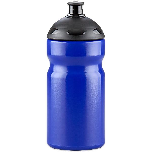 "Fahrrad-Trinkflasche ""Fitness"" 500 ml blau | Unbedruckt"