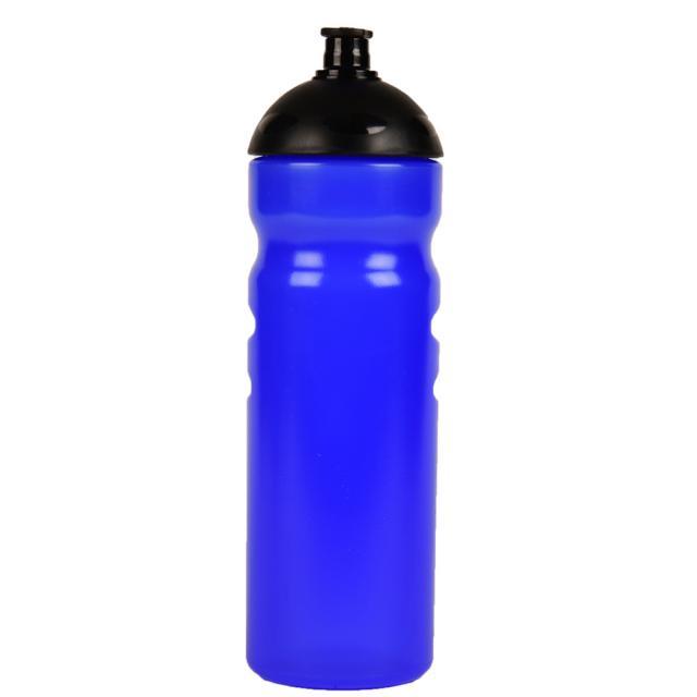 "Fahrrad-Trinkflasche ""Fitness"" 750 ml blau | Siebdruck, 2-farbig"