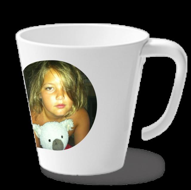 Becher | Tasse mit Henkel 325ml weiss | Digitaldruck