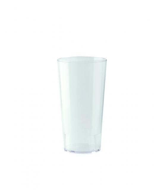 Mehrwegbecher 300 ml PP Transparent | Siebdruck, 1-farbig