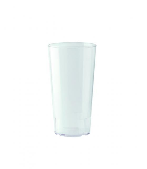Mehrwegbecher 500 ml PP Transparent | Siebdruck, 1-farbig