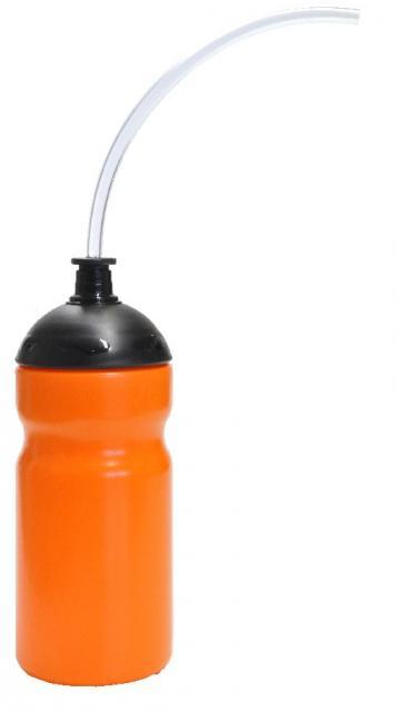 Trinkschlauchflasche 500 ml orange | Digitaldruck