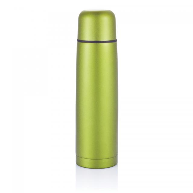 Isolierflasche Mono grün | Gravur