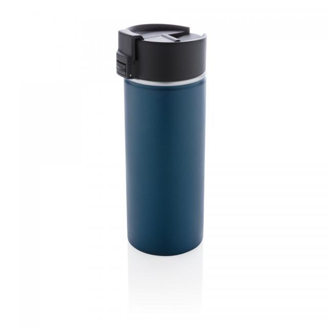 Bogota Vakuum Kaffeebecher mit Keramik-Coating blau | Unbedruckt