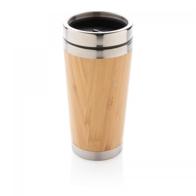 Bambus-Becher braun | Unbedruckt