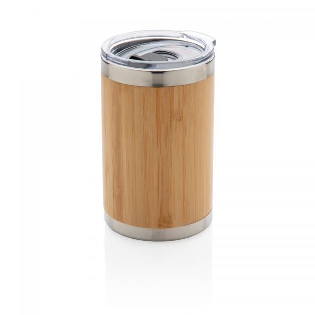 Bambus Coffee-To-Go Becher braun | Unbedruckt