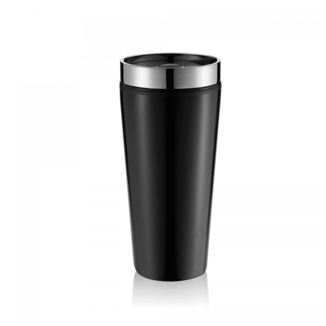 Becher Shake-It schwarz | Digitaldruck