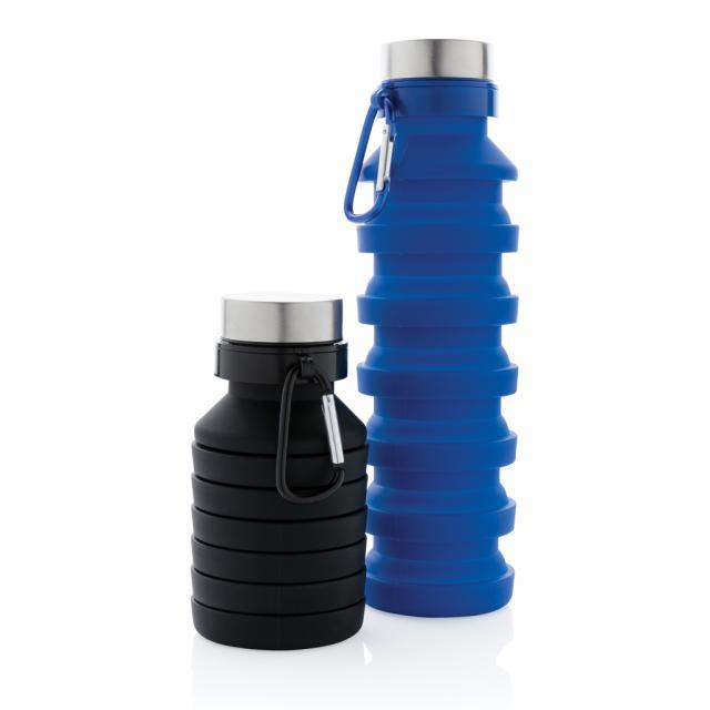 Auslaufgeschützte faltbare Silikonflasche
