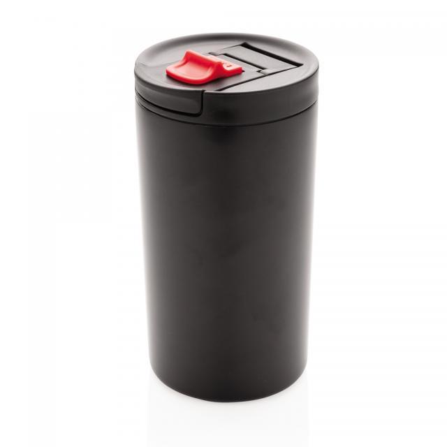 Doppelwandiger Vakuum-Becher 450ml schwarz | Gravur