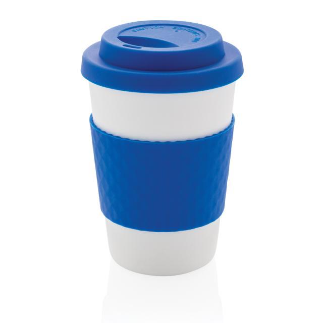 Wiederverwendbarer Kaffeebecher 270ml blau   Unbedruckt