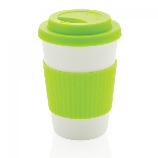 Wiederverwendbarer Kaffeebecher 270ml grün | Unbedruckt