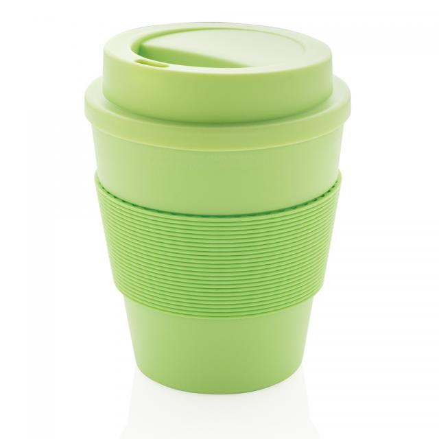 Wiederverwendbarer Kaffeebecher 350ml grün   Unbedruckt