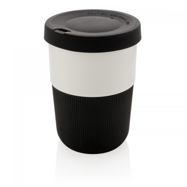 PLA Cup Coffee-To-Go 380ml schwarz | Unbedruckt