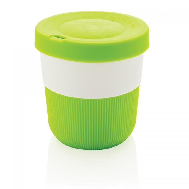 PLA Cup Coffee-To-Go 280ml grün | Unbedruckt