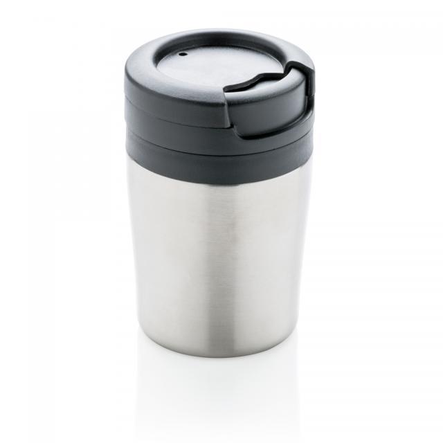 Coffee to go Becher silber | Unbedruckt