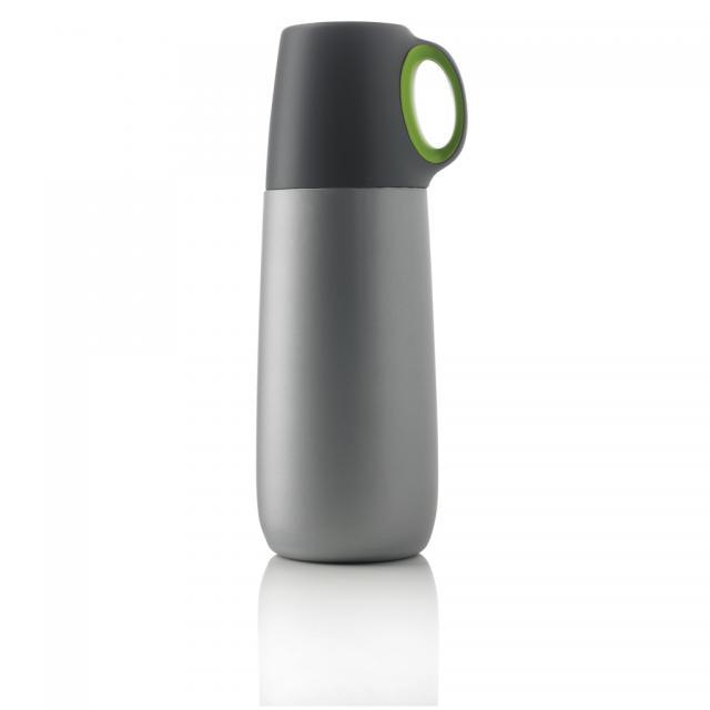 Bopp Hot Isolierflasche grün, anthrazit | Unbedruckt