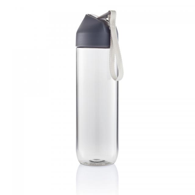 Neva Wasserflasche anthrazit, grau | Digitaldruck