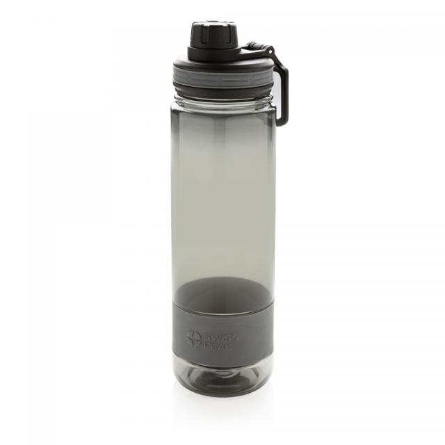 Tritan Trinkflasche grau, grau | Digitaldruck