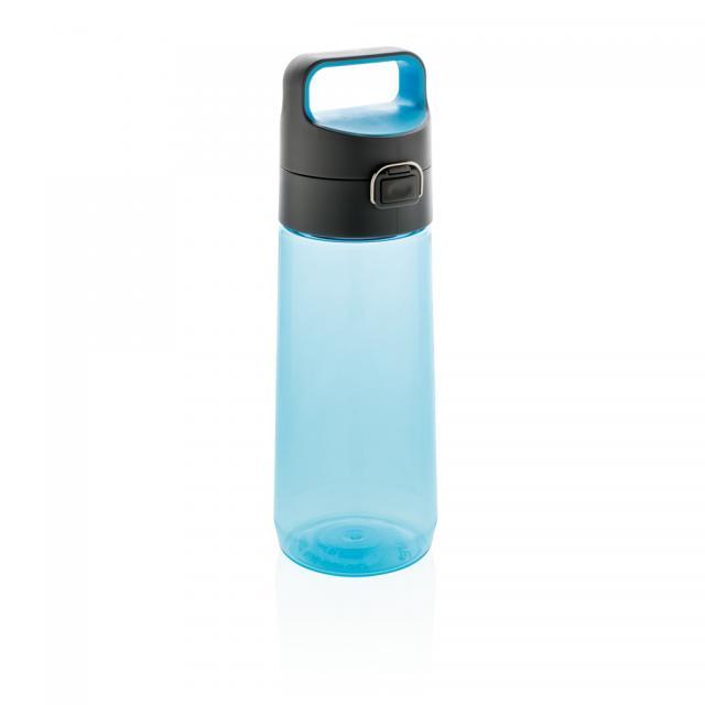 Hydrate auslaufsichere Tritanflasche blau, anthrazit | Unbedruckt