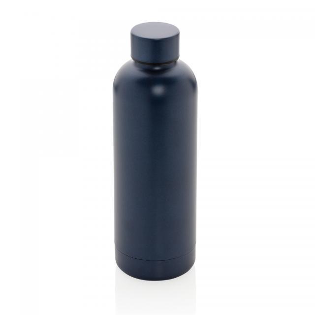 Impact doppelwandige Stainless Steel Vakuum-Flasche blau | Digitaldruck