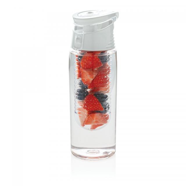 Verschließbare Aromaflasche weiß | Unbedruckt