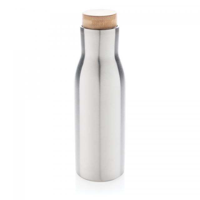 Clima auslaufsichere Vakuum-Flasche grau | Unbedruckt