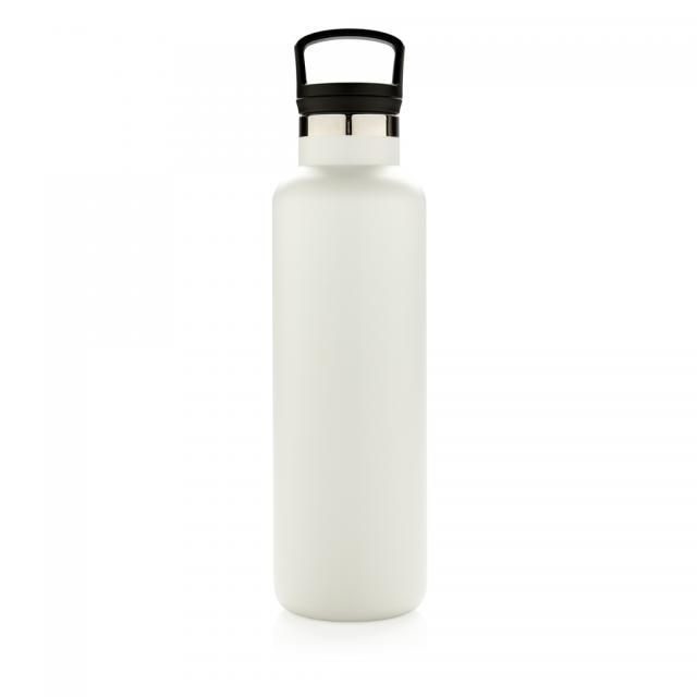 Auslaufsichere Vakuumflasche off white | Unbedruckt