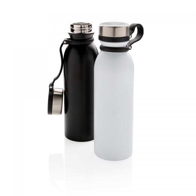 Kupfer-Vakuumisolierte Flasche mit Trageriemen