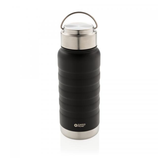 Swiss Peak Elite Kupfer-Vakuum-Flasche mit Griff