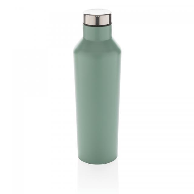 Moderne Vakuum-Flasche aus Stainless Steel grün | Digitaldruck