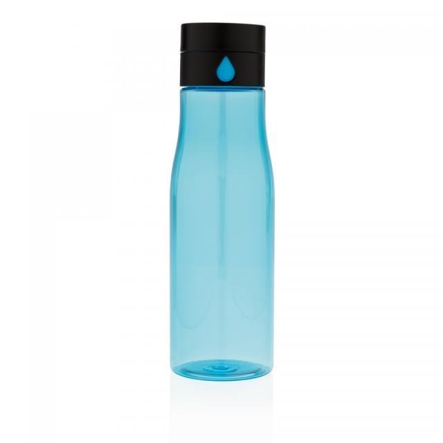 Aqua Hydration-Flasche blau   Unbedruckt