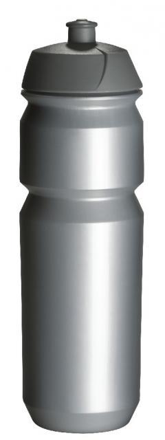 Tacx-Trinkflasche Shiva 750 ml silber | Unbedruckt