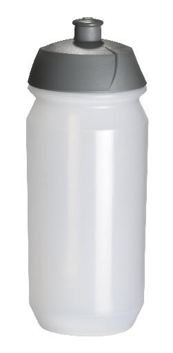 Tacx-Trinkflasche Shiva 500 ml transparent | Siebdruck, 2-farbig