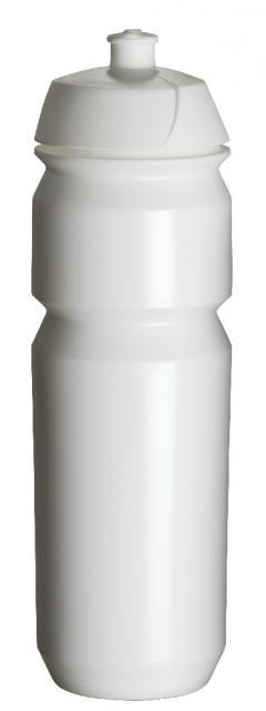 Tacx-Trinkflasche Shiva 750 ml weiß | Unbedruckt