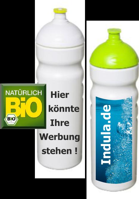 Bio Trinkflasche Premium  0,75 Liter