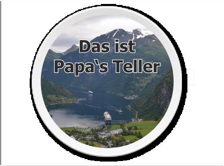 Teller Groß | Melamin-Teller Teller mit Bild und Logo selber gestalten und bedrucken lassen